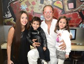 "بالصور.. وائل نور يحتفل مع أسرته بعيد ميلاد ابنته ""جودى"""