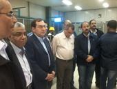 وزير البترول يتفقد محطة القوى الكهربية بحقول جنوب سيناء
