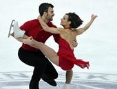 بالصور.. مسابقة للرقص على الجليد فى اليابان تظهر قدرات الفتيات الخاصة