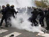 داخلية فرنسا: إصابة شرطى و5 محتجين باليوم الثانى من الاحتجاجات على بناء مطار