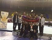 الجمباز يحقق 8 ميداليات بالبطولة العربية فى المغرب