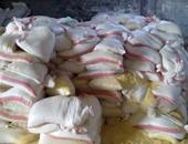 تموين الإسكندرية يضبط 14 طن مواد أعلاف حيوانية فاسدة داخل مصنع خلال حملة