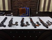 الداخلية تضبط رشاش و55 بندقية في مداهمات أمنية على مستوى الجمهورية