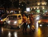 الإسكندرية تحت رحمة الأمطار