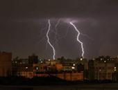 """قراء """"اليوم السابع"""" يرصدون بالصور الرعد والبرق فى الإسكندرية"""
