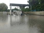 هطول أمطار غزيرة على نواحى متفرقة من الإسكندرية