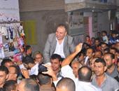 """بالصور.. مرشح """"مستقبل وطن"""" بمركز طنطا يدشن حملته الانتخابية بمسقط رأسه"""