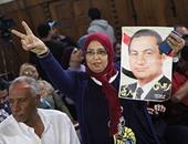 """بالصور.. أبناء مبارك يتظاهرون داخل محكمة النقض مرددين """"بالروح والدم نفديك يامبارك"""""""