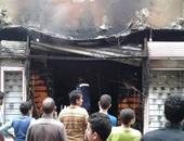سائق يحرق محل أحذية بالمولوتوف بسبب تكسير أصحابه زجاج سيارته فى المعصرة