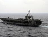 وزير الدفاع الأمريكى آش كارتر يزور حاملة الطائرات روزفلت فى بحر الصين