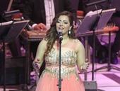 """إيمان عبدالغنى تغنى """"علمتنى أشتاق"""" بمهرجان الموسيقى العربية"""