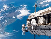 بث مباشر .. شاهد مهمة رواد المحطة الدولية للسير فى الفضاء