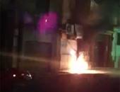 السيطرة على حريق بمحول كهرباء بإحدى قرى المنيا