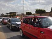 """بالصور.. مسيرة تجوب شوارع شبرا الخيمة لدعم """"صلاح حسب الله"""" فى الانتخابات"""