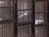 """المحكمة تسمح للشهود بأحداث """"حدائق حلوان"""" بدخول القفص للتعرف على المتهمين"""