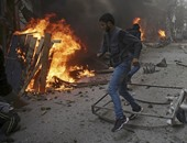"""وصول 130 من مسلحى المعارضة السورية إلى """"إدلب """""""