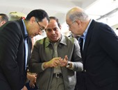 بالصور.. السيسى يقرر صرف تعويضات لأصحاب المزارع الغارقة نتيجة النوة بالإسكندرية