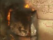 السيطرة على حريق داخل كابينة كهرباء بشارع السودان دون إصابات