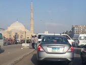 أهالى مدينة 6 أكتوبر يطالبون ببناء كوبرى للمشاة بميدان الحصرى