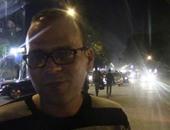 """بالفيديو..مواطن يطالب محافظ الجيزة بالتصدى لـ""""مواقف السيارات العشوائية"""""""