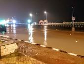 هطول أمطار غزيزة على مختلف أنحاء محافظة شمال سيناء