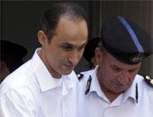 جمال وعلاء مبارك يصلان أكاديمية الشرطة لحضور إعادة محاكمة القرن