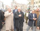 """محافظ القاهرة: ساحة انتظار مجهزة لسيارات """"السرفيس"""" بالسيدة زينب"""
