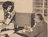 نشطاء يتداولون صورة نادرة لـ سعاد حسنى تنتخب الزعيم جمال عبدالناصر