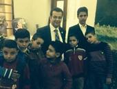"""""""المصريين الأحرار"""" يزور دار أيتام أصدقاء الكتاب المقدس بالإسكندرية"""