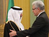 وزيرة التضامن وحمدين صباحى يصلان السفارة السعودية لتقديم واجب العزاء