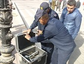 العثور على قنبلة يدوية بدون مادة مفجرة من مخلفات قديمة فى التجمع
