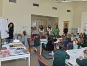 """فريق """"حاسوبوية"""" ينتهى من ورشة تعلم الخط العربى للأطفال"""
