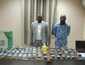 ضبط نيجيريين يحتالان على رجال الأعمال بزعم توليد دولارات من أوراق سوداء