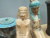ضبط موظف أثناء الاتفاق على بيع تمثالين أثريين بالعياط