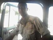أول صور لشهيد محافظة قنا خالد محمد عبد العاطى فى حادث سيناء الإرهابى
