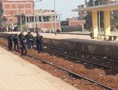 غلق 210 معابر غير قانونية على شريط السكة الحديد لتفادى الحوادث
