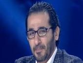 أحمد حلمى ينعى نور الشريف ويكشف كواليس أول لقاء جمعهما