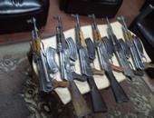 ضبط 11 متهمًا بحوزتهم أسلحة ومخدرات بالبحيرة..وعامل بحوزتة طبنجة بالقليوبية