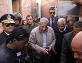 رئاسة حى منشأة ناصر:وفرنا مساكن بديلة للمتضررين من انهيار صخرة الدويقة