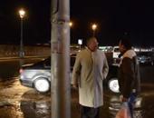 بالفيديو..طارق مهدى يتفقد تصريف الأمطار بعد تعرض الإسكندرية لعاصفة رعدية