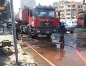 اندلاع حريق بمقهى فى الإسكندرية دون إصابات نتيجة تسرب غاز