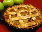 طريقة بسيطة لعمل فطيرة التفاح والقرفة