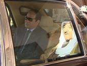 """""""السيسى"""" يصل الكويت فى أول زيارة منذ توليه الرئاسة"""