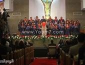 """بدء حفل الكنيسة الإنجيلية بقصر الدوبارة برأس السنة تحت شعار """"يسوع يزيد"""""""