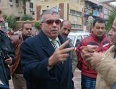 محافظ الإسكندرية يتفقد منطقة بير مسعود بعد أزمة الصرف الصحى