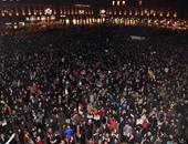 مئات النشطاء يتظاهرون فى فرنسا للمطالبة باغلاق محطة فسنهايم النووية