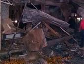 انهيار جزئى بعقار شرق الإسكندرية دون إصابات