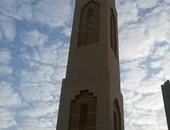 صحافة المواطن..السحب تعانق مئذنة مسجد بالسعودية فى مشهد بديع بعدسة القراء