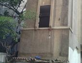 بالصور.. وقف أعمال هدم وبناء مخالف بحى المنتزه شرق الإسكندرية