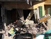 الداخلية: مصرع طفلين فى انهيار منزل بالمنوفية بسبب أعمال الهدم